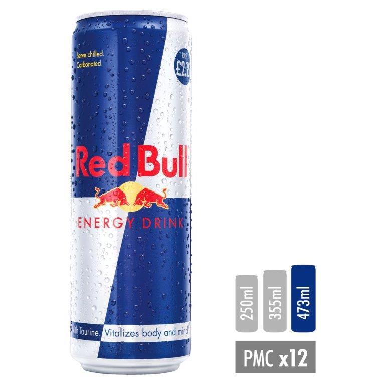 Red Bull 473ml PM £2.15