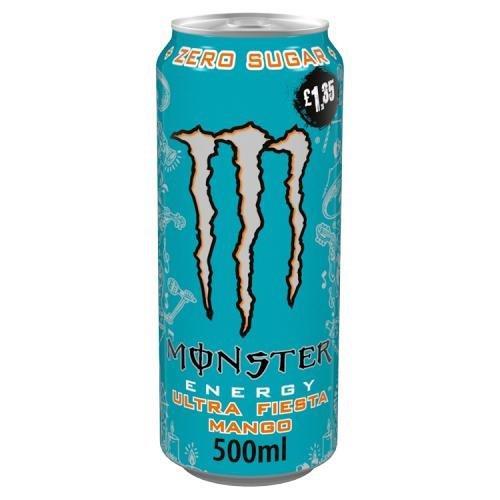 Monster S/F Ultra Fiesta 500ml PM £1.35 NEW