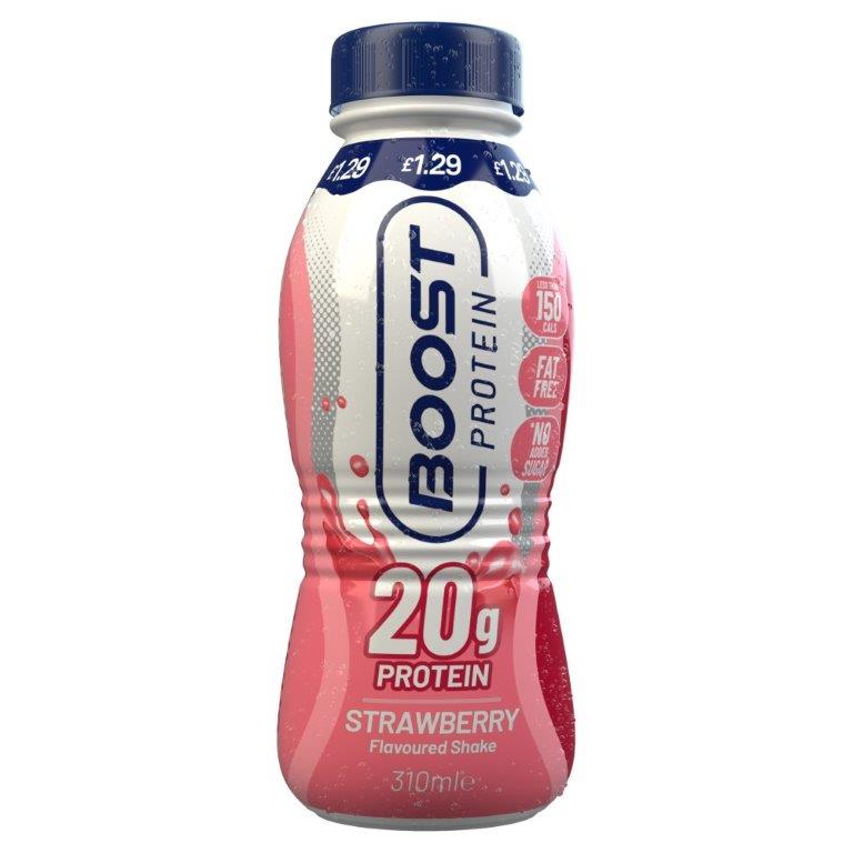 Boost Protein Strawberry 310ml PM £1.29