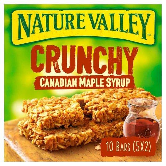Nature Valley Canadian Maple Syrup 5pk (5 x 42g)