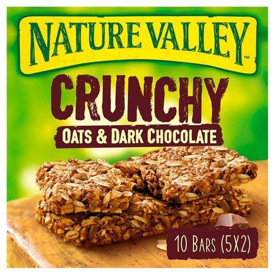 Nature Valley Crunchy Oats & Chocolate Cereal Bar 5pk (5 x 42g)