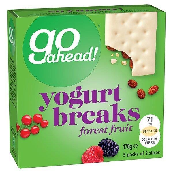 Go Ahead Forest Fruit Yogurt Breaks 5pk (5 x 35.5g)