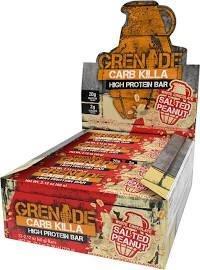 Grenade Go Nuts Carb Killa Box Salted Peanut 40g