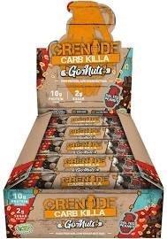 Grenade Go Nuts Carb Killa Box Peri Peri 40g