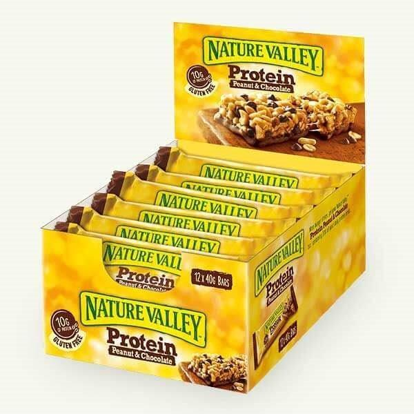 Nature Valley Protein Bar Peanut Butter & Chocolate Box 40g