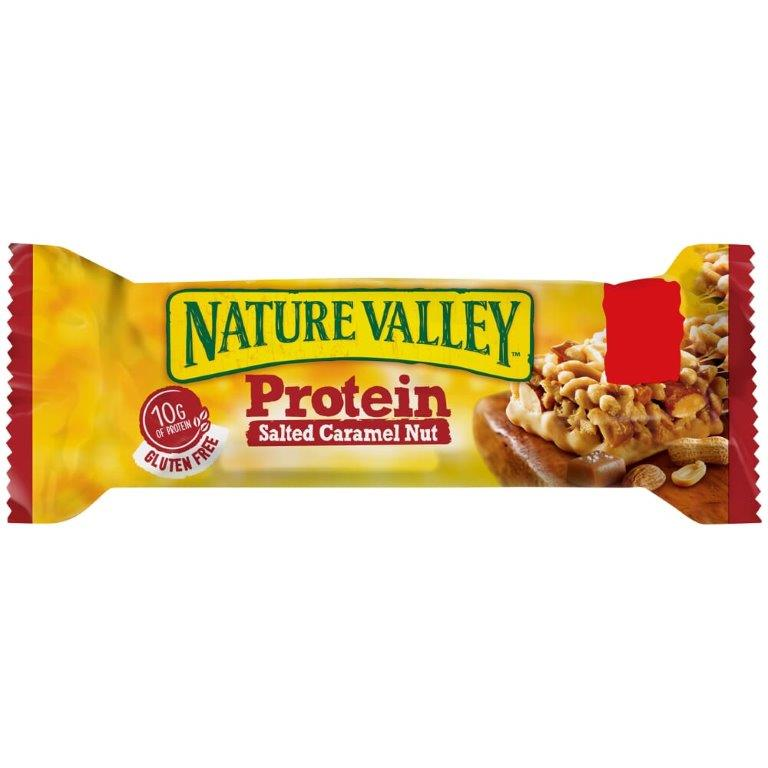 Nature Valley Protein Bar Salted Caramel Box 40g