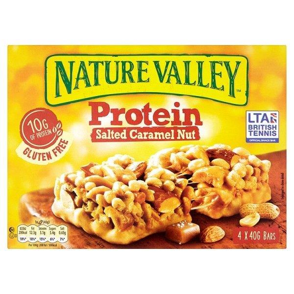 Nature Valley Protein Salted Caramel 4pk (4 x 40g)