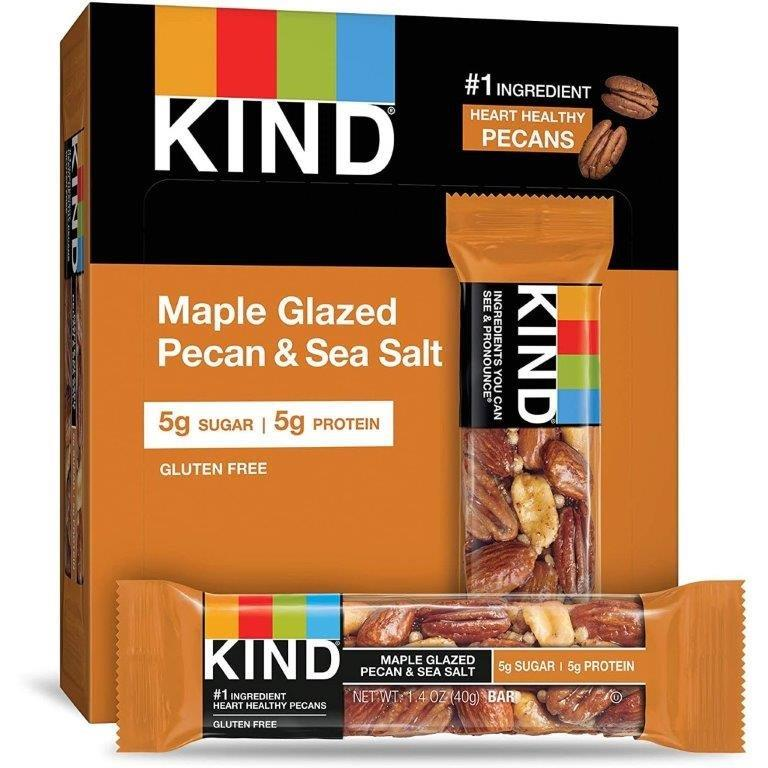 KIND Maple Glazed Pecan with Sea Salt 40g