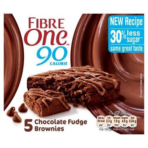 Fibre One Chocolate Fudge Brownie 5pk (5 x 24g)