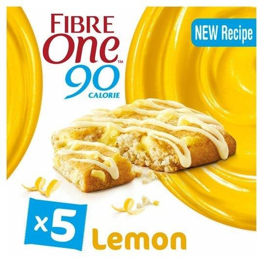 Fibre One Lemon Drizzle 5pk (5 x 24g)