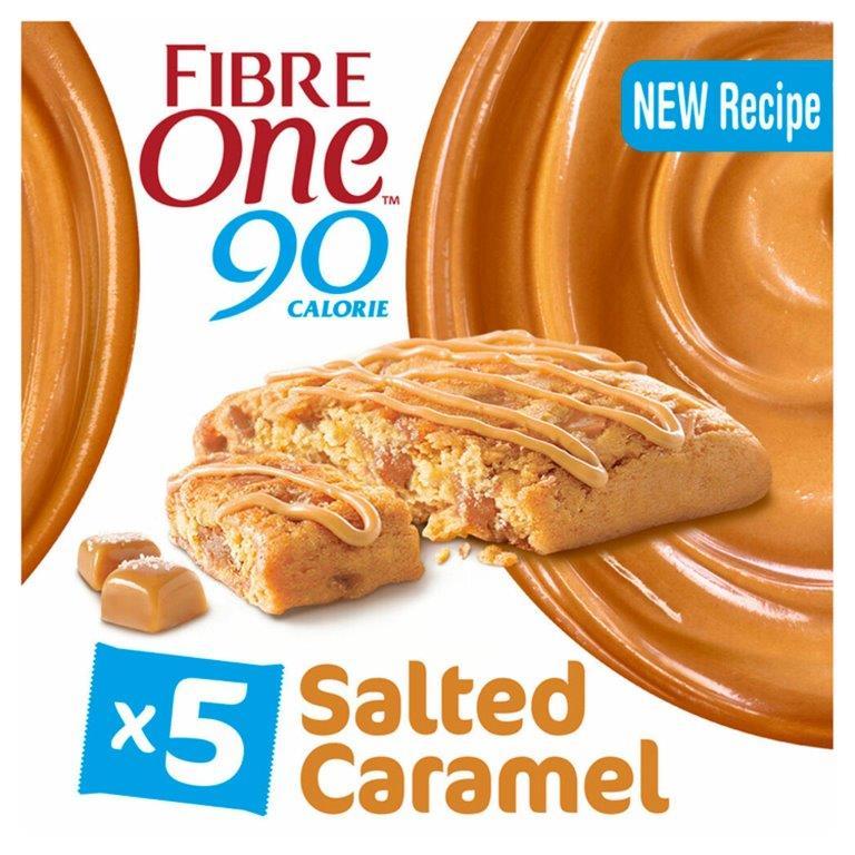 Fibre One Salted Caramel 5pk (5 x 24g)