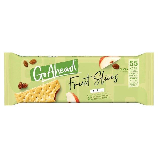 Go Ahead Crispy Slices Apple & Sultana 6pk (6 x 43.6g)
