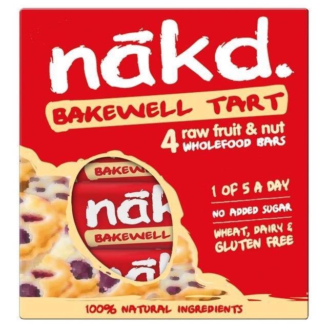 Nakd Bakewell Tart 4pk (4 x 35g)