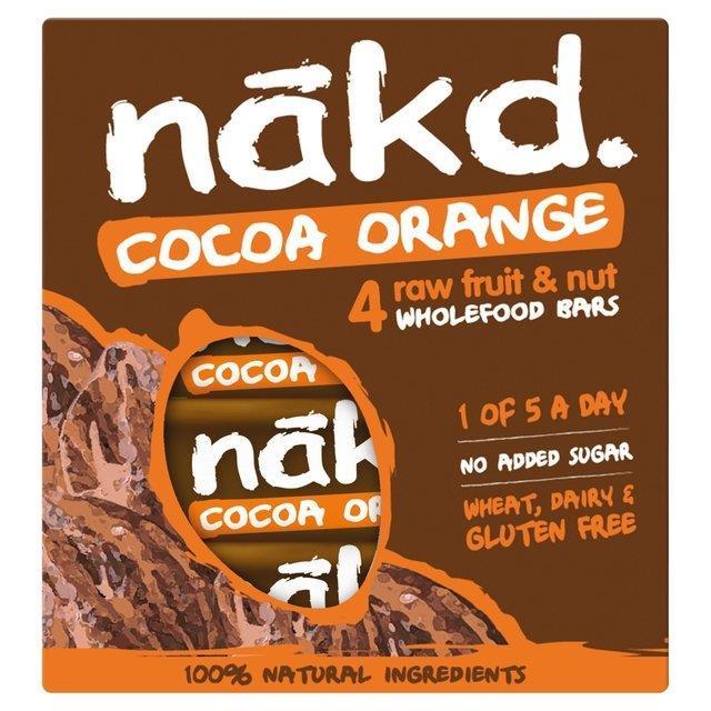 Nakd Cocoa Orange 4pk (4 x 35g)