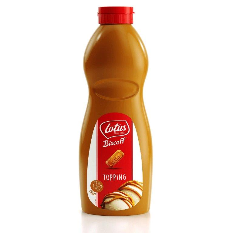 Lotus Biscoff Topping Sauce Squeezy 1kg