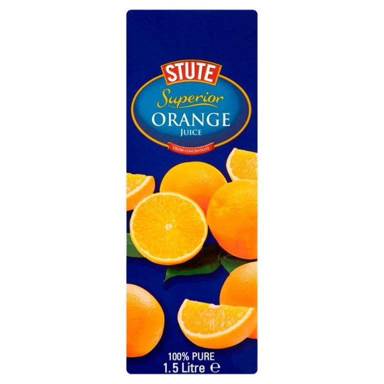Stute Pure Orange Juice 1.5L