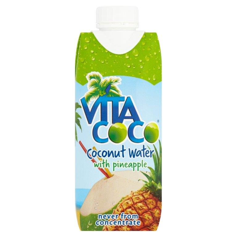 Vita Coco Coconut Water Pineapple 330ml
