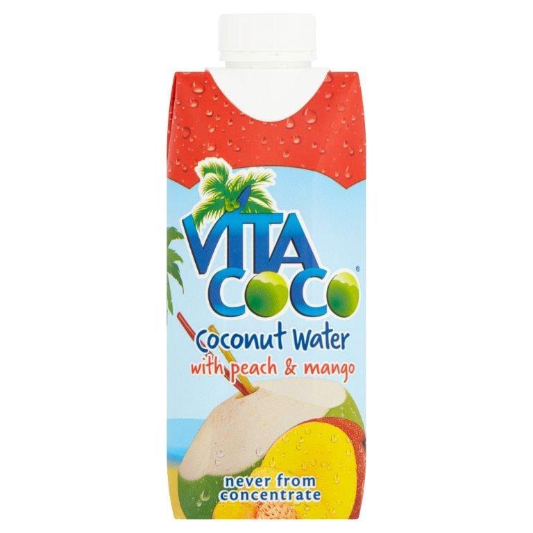 Vita Coco Coconut Water Peach & Mango 330ml