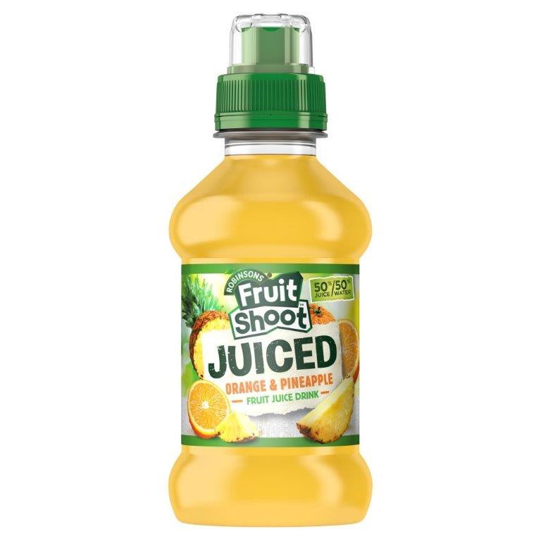 Fruit Shoot Juiced Org/Pine PET 200ml