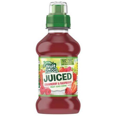 Fruit Shoot Juiced Stw/Raspberry PET 200ml