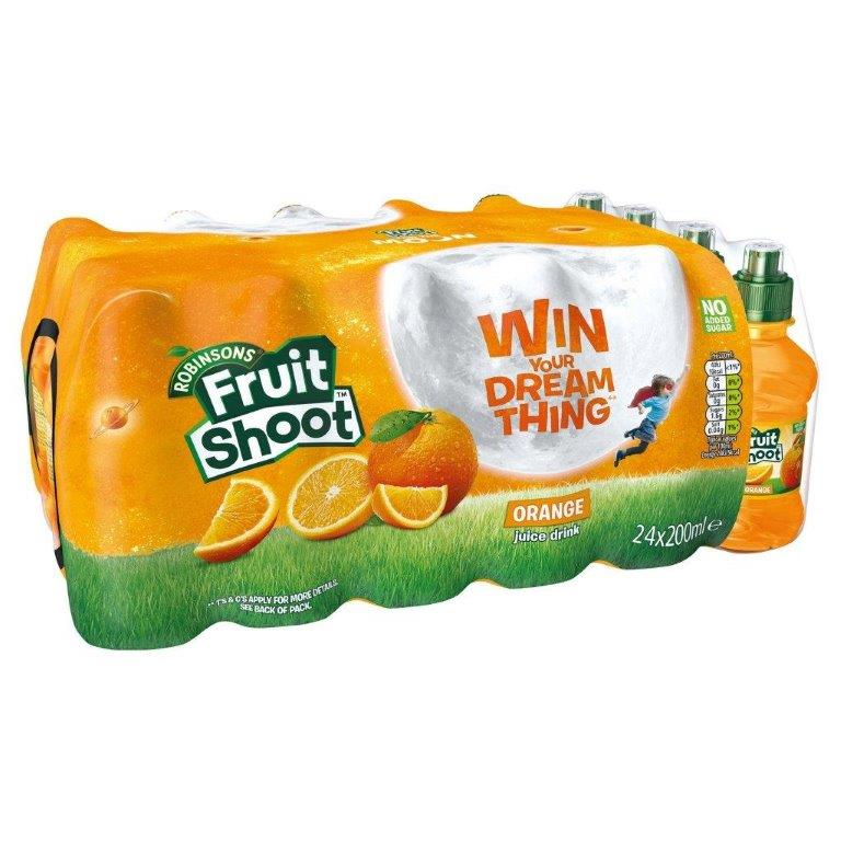Fruit Shoot Orange NAS 24pk (24 x 200ml)