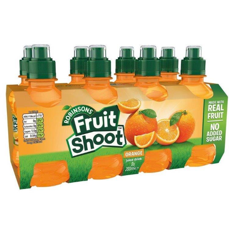 Fruit Shoot Orange NAS 8pk (8 x 200ml)