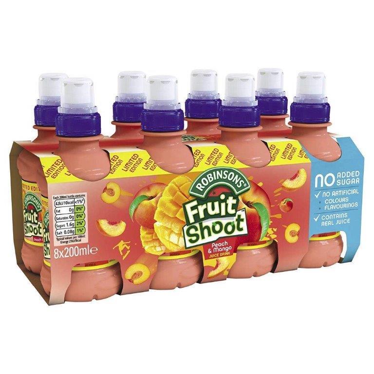 Fruit Shoot Peach/Mango NAS 8pk (8 x 200ml)