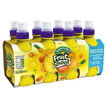 Fruit Shoot Tropical NAS 8pk (8 x 200ml)