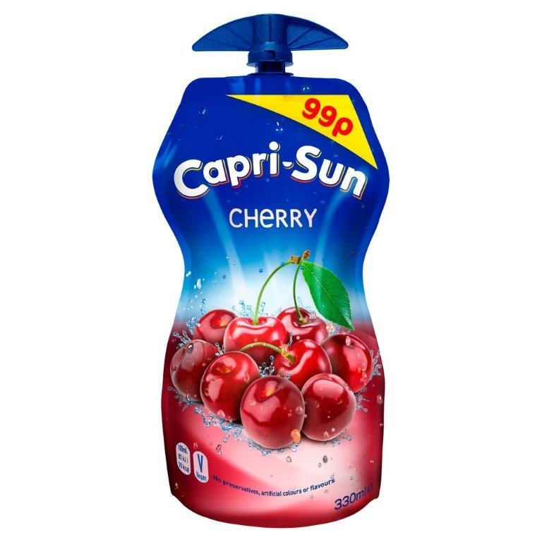 Capri-Sun Pouch Cherry 330ml PM 99p
