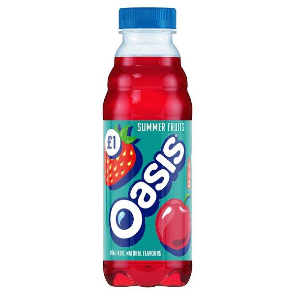 Oasis Summer Fruits PET 500ml PM £1