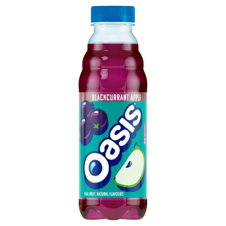 Oasis Apple & Blackcurrant PET 500ml PM £1