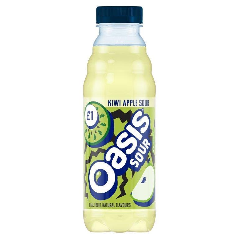 Oasis Kiwi Apple Sour PET 500ml PM £1