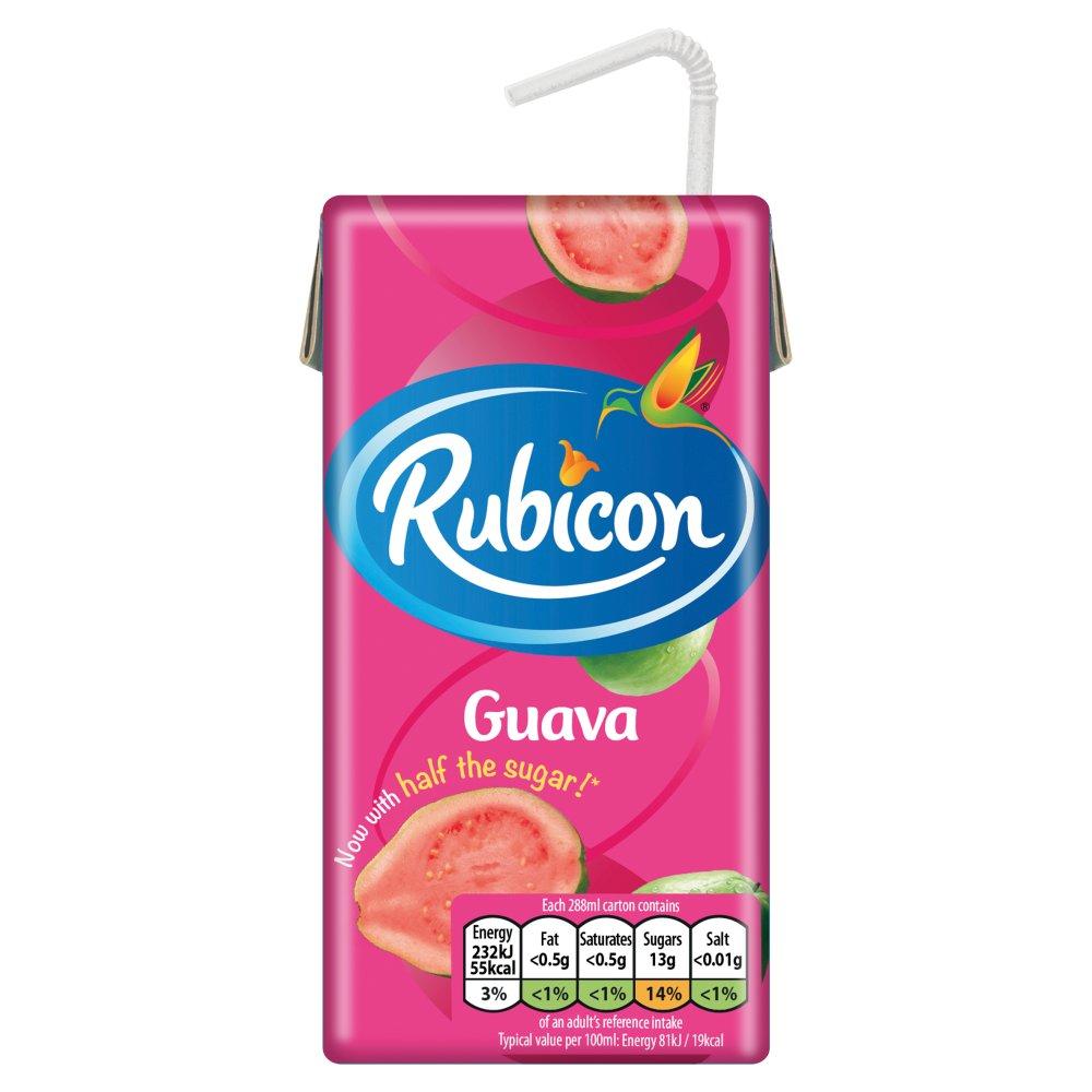 Rubicon Still Guava 288ml PM 65p