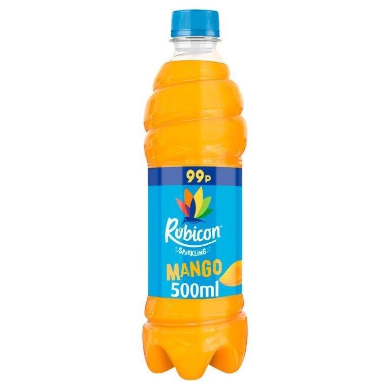 Rubicon Sparkling Mango 500ml PM 99p