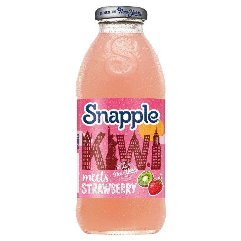 Snapple Kiwi & Strawberry 473ml