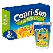 Capri-Sun 8pk Multi-Vitamin Orange NAS (8 x 200ml)