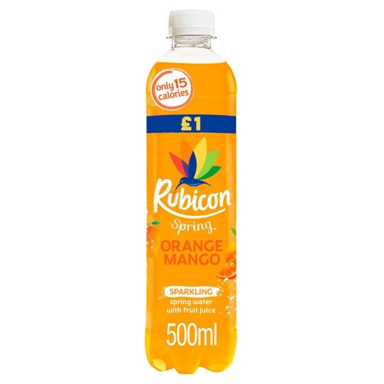 Rubicon Spring Orange & Mango 500ml PM £1 NEW