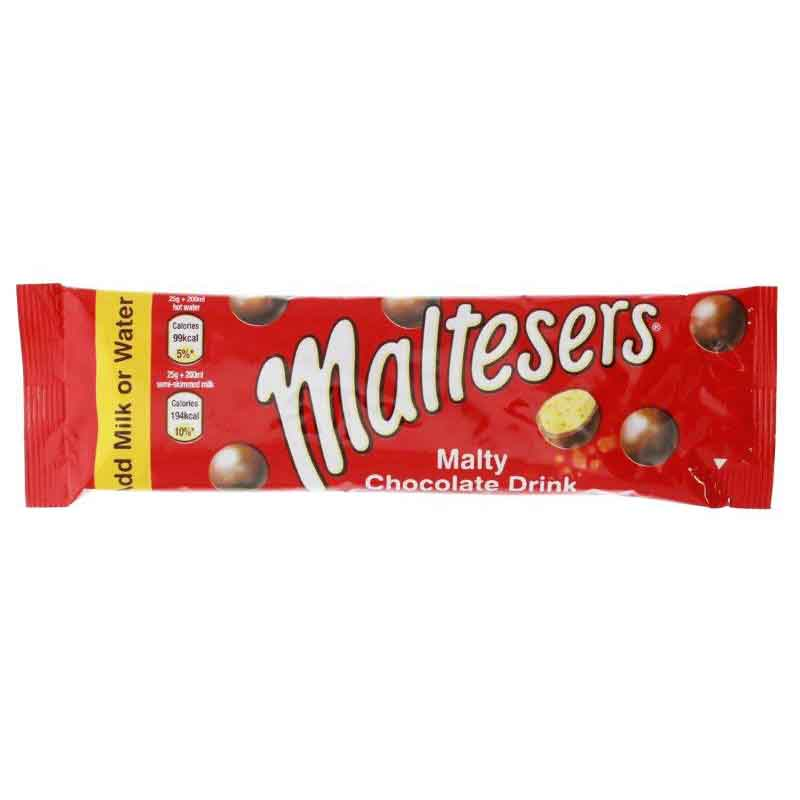 Maltesers Instant Hot Chocolate Stick Pack 25g