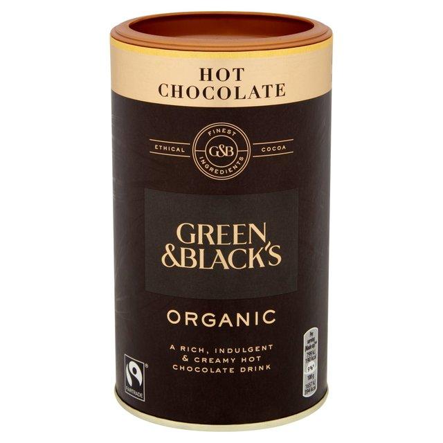 Green & Blacks Dark Hot Chocolate Jar 300g