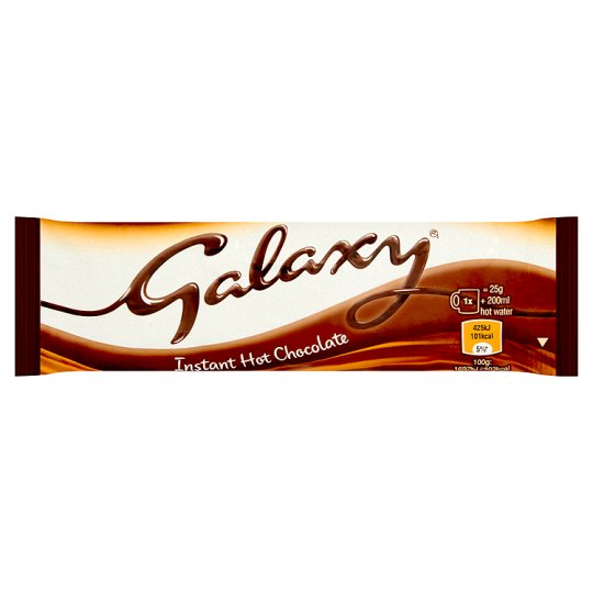 Galaxy Instant Hot Chocolate Sticks 100 x 25g