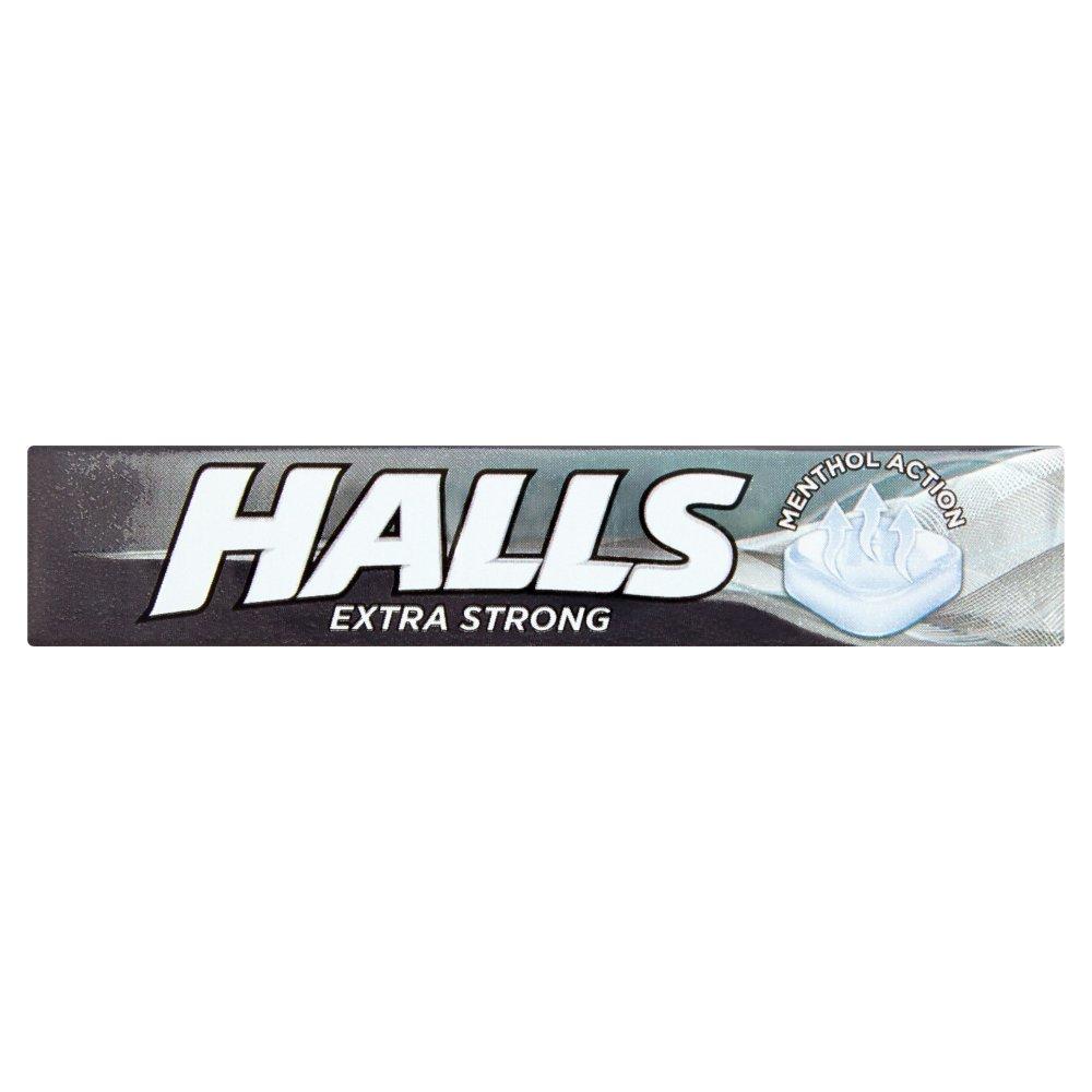 Halls Mentholyptus Extra Strong 32g