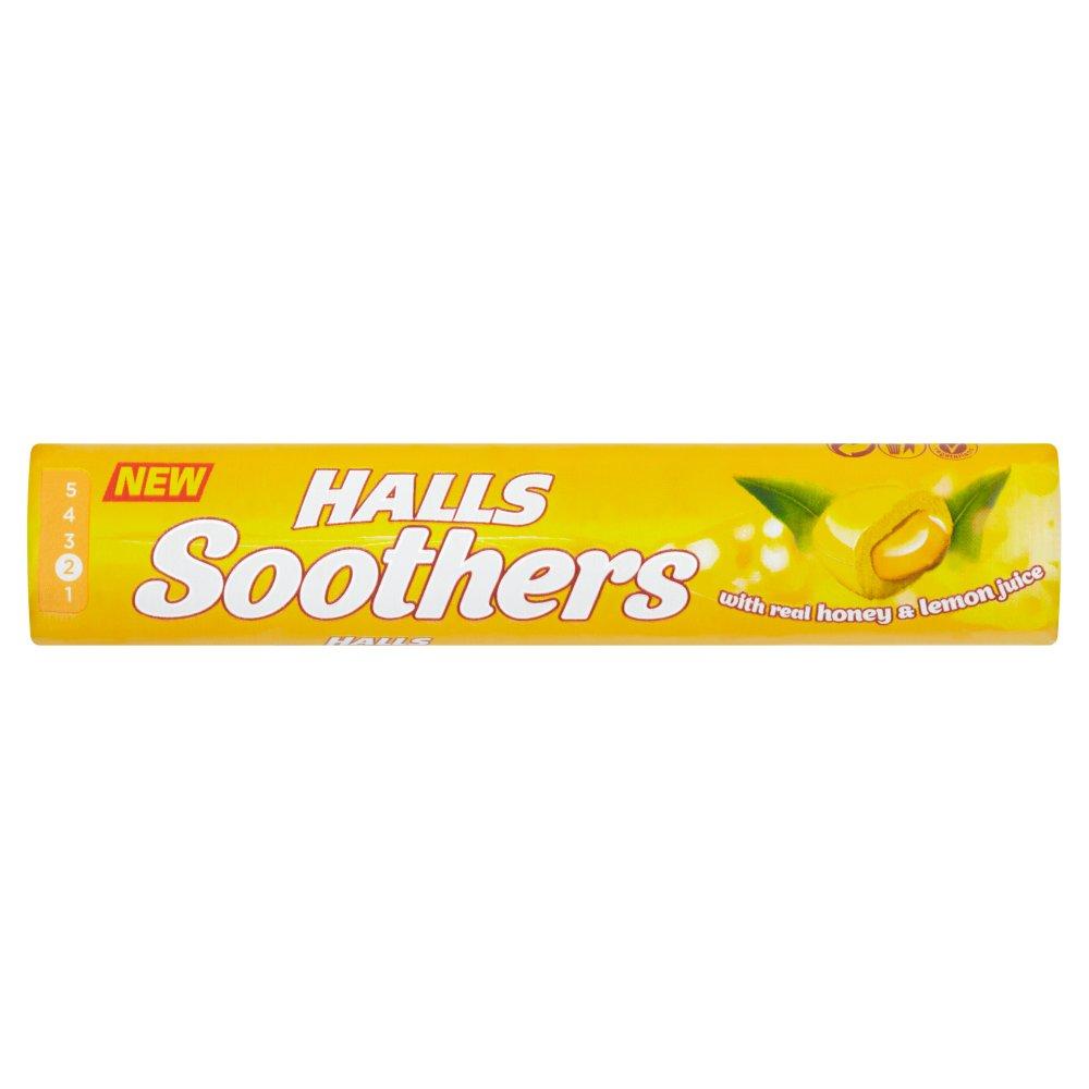 Halls Soothers Honey & Lemon 45g