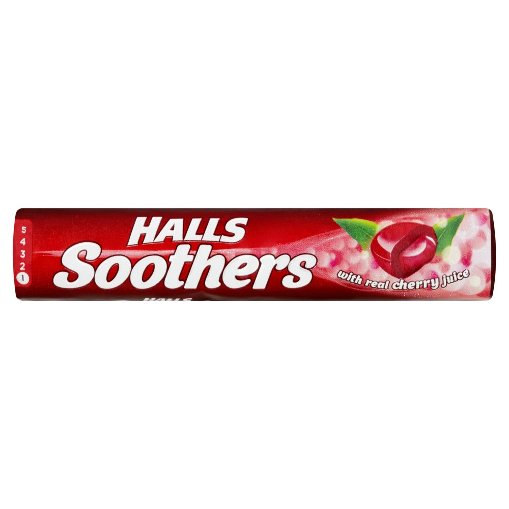 Halls Soothers Cherry 45g