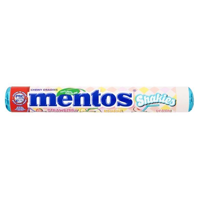 Mentos Rolls Shakies 37.5g