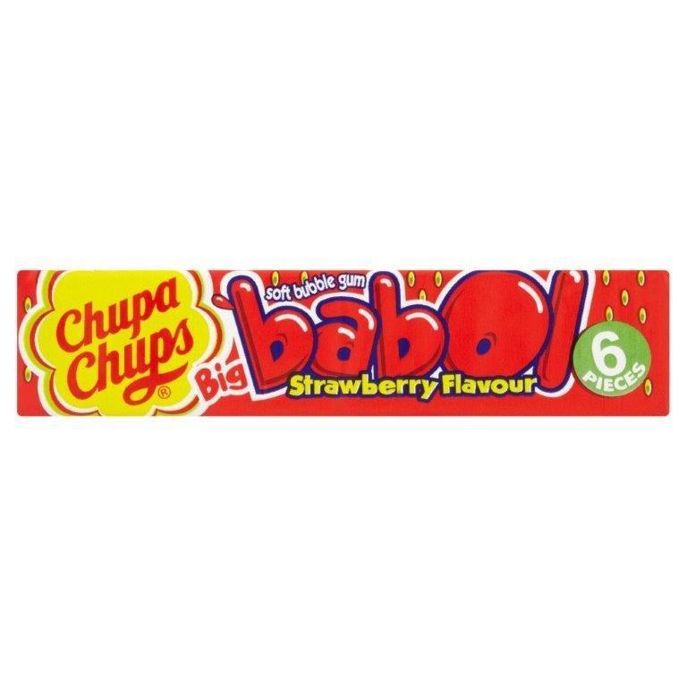 Chupa Chups Babol Gum Strawberry 27.6g