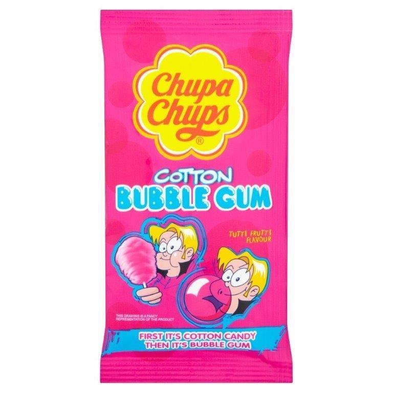 Chupa Chups Gum Cotton Candy 12g