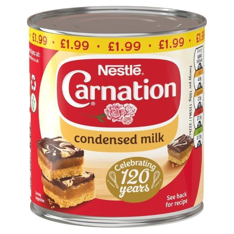 Carnation Condensed Milk 397g PM £1.99
