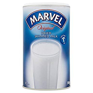 Marvel Dried Skimmed Milk Powder 350G