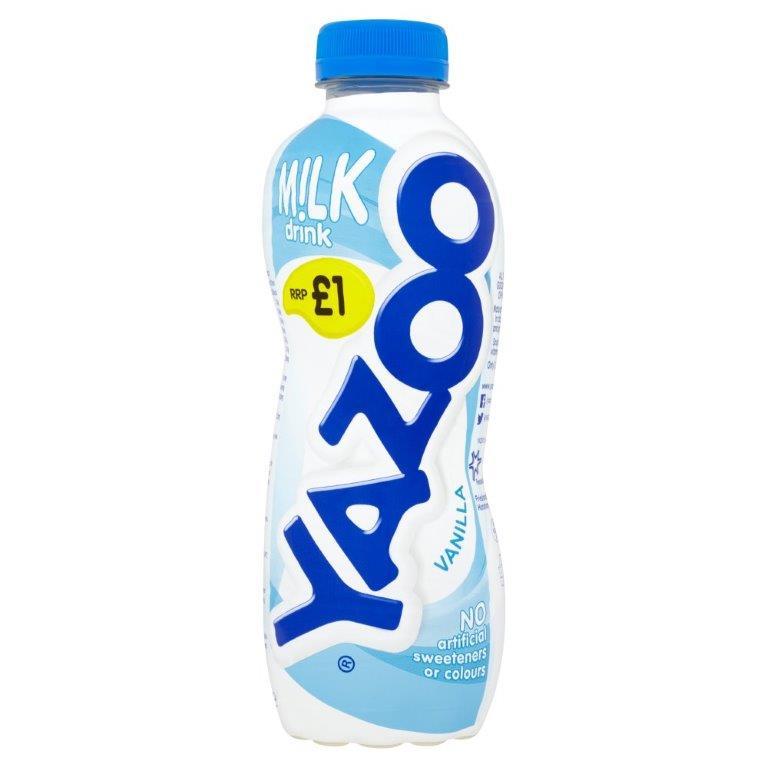 Yazoo Vanilla 400ml PM £1