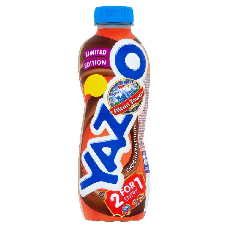 Yazoo Choc Hazelicious 400ml PM £1